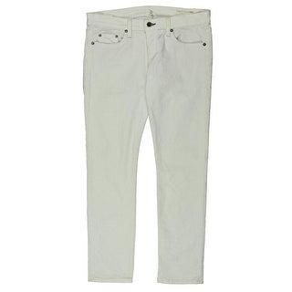 Rag & Bone/JEAN Womens Straight Leg Jeans Corduroy Low-Rise - 26/28w