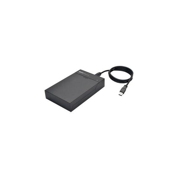 Tripp Lite U339-001-FLAT Tripp Lite USB 3.0 to SATA Hard Drive Lay-Flat Quick Dock HDD SSD - 1 x Total Bay - 1 x
