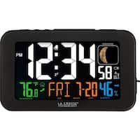 Lacrosse 617-1485b atomic color alarm clock