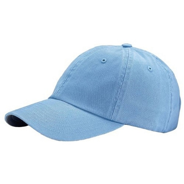 Shop Washed Polo Caps (7647) - Sky Blue - Free Shipping On Orders ... fed6e7f90d6