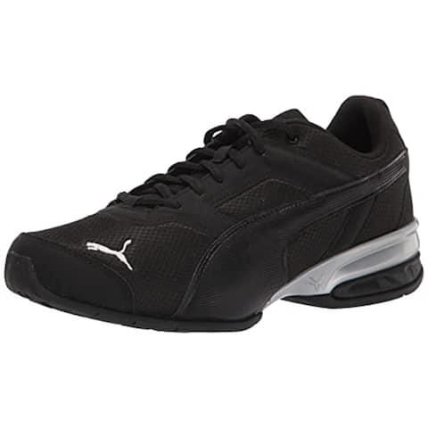 PUMA Men's Tazon 7 Running Shoe, Black
