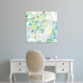 Easy Art Prints Jan Weiss's 'Mint Cocktail' Premium Canvas Art