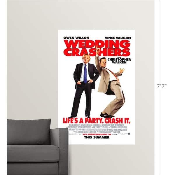 Shop Black Friday Deals On Wedding Crashers 2005 Poster Print Overstock 24128932