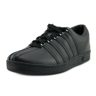 K-Swiss Classic 88 Men   Leather Black Fashion Sneakers