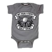 First Golf Shirt Cute Sports Golf Ball Tee Athlete Novelty Infant Baby One Piece