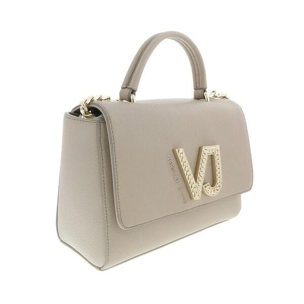 54129d6d75 Shop Versace EE1VRBBC6 Beige Top Handle Bag - 9-7.5-4.5 - Free ...