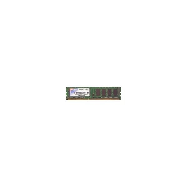 Patriot Memory PSD34G13332 Patriot Memory Signature PSD34G13332 4GB DDR3 SDRAM Memory Module - 4 GB - DDR3 SDRAM - 1333 MHz