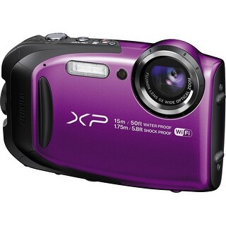 Fujifilm FinePix XP80 Digital Camera (Purple) (International Model)
