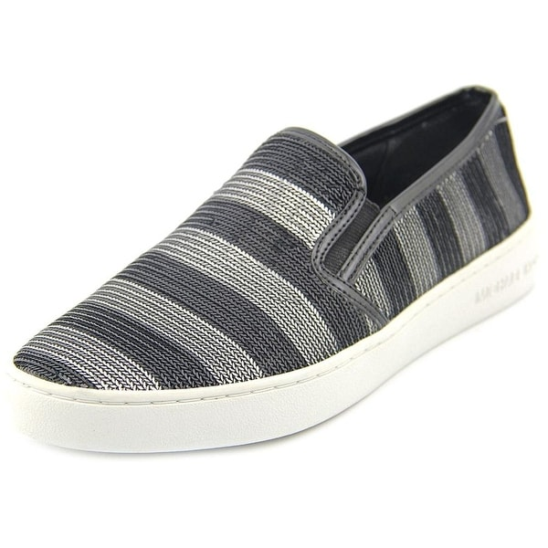Michael Kors Womens Keaton Slip On Low Top Slip On Fashion Sneakers