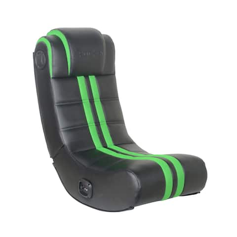 X Rocker SE+ 2.0 Bluetooth Foldable Rocking Video Gaming Chair with 2 Speakers