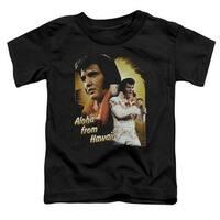 Elvis Aloha Little Boys Toddler Shirt
