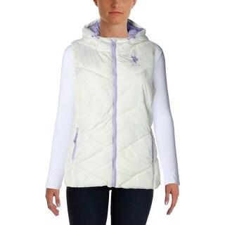 U.S. Polo Assn. Womens Puffer Hooded Vest - XL