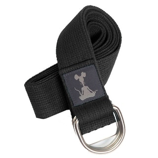 YogaRat 8' Yoga Strap - Black