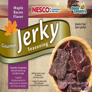Nesco Jerky Spice Works - Bacon Maple Jerky Spice