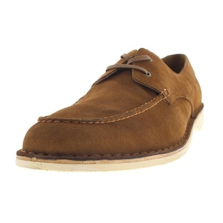 Andrew Marc Mens Dorchester Brig Suede Moc Toe Casual Shoes