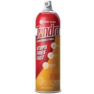 First Alert Tundra Fire Extinguishing Aerosol Spray, AF400