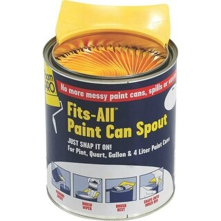 Foampro 61 Fits All Paint Can Spout