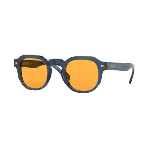 Vogue VO5330S 2760/7 46 Transparent Blue Man Square Sunglasses