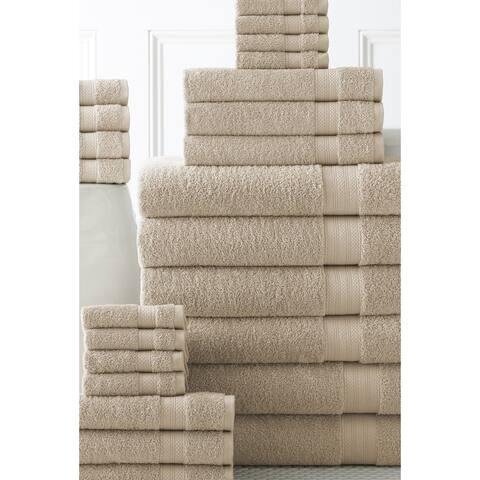 Ultrasoft Cotton Towel Set (Set of 24 Multi-sized towels)