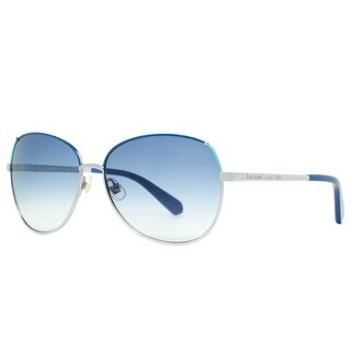 KATE SPADE Butterfly KS CANDIDA/S Women's 0YB7/OS Silver Blue Gradient Sunglasses - 58mm-14mm-135mm