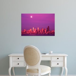 Easy Art Prints Jamie & Judy Wild's 'Seattle Skyline' Premium Canvas Art