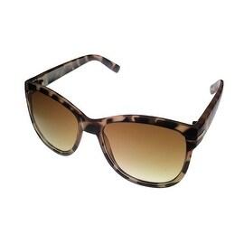 Kenneth Cole Reaction Womens Sunglass Tortoise Wayfarer, Gradient Len KC1254 52F