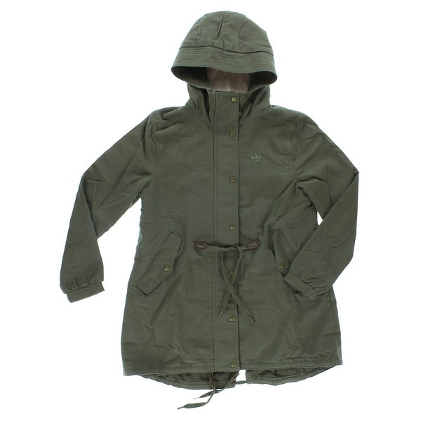 Shop Adidas Womens Adidas Originals Winter Parka Army Green - Army Green - L - Free Shipping Today - Overstock - 22573945