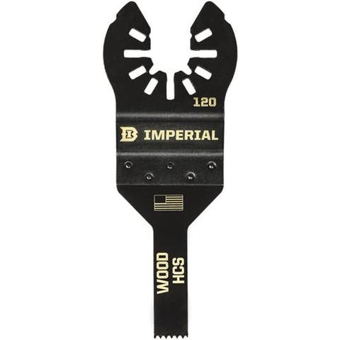 "Imperial Blades 3/8"" Detail Wood Blade IBOA120-1 Unit: EACH"