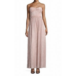 Laundry by Shelli Segal Womens Metallid Gown Dress