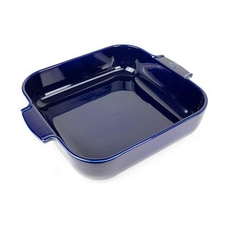 Peugeot Saveurs Appolia 60152 Square Oven Dish, 14 Inches, Blue