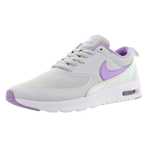 582846396b Shop Nike Air Max Thea Se Athletic Gradeschool Girl's Shoes Size ...