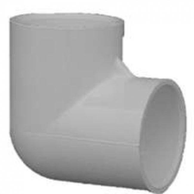 Raingo 30705CP PVC 90 Degree  Elbow Fitting, 1/2