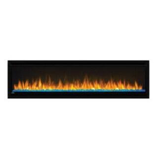 "Napoleon NEFL60CHD  Alluravision 9000 BTU 60"" Wide Deep Depth Wall Mounted Electric Fireplace - Black"