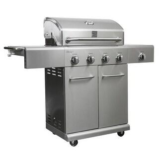 Kenmore 4 Burner plus Side Burner Stainless Steel Grill