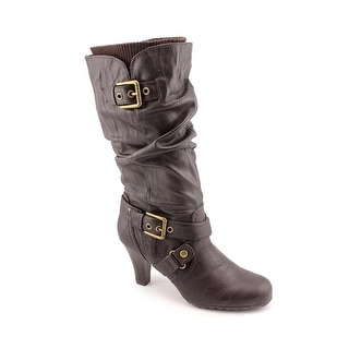 G By Guess Trinnie Women Round Toe Synthetic Mid Calf Boot