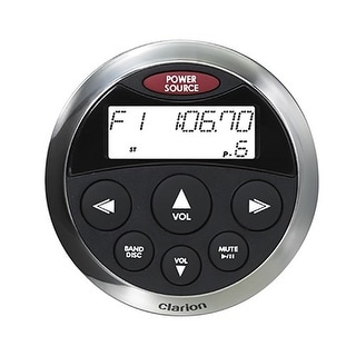 Clarion USA Watertight Wired Remote w/Display Wired Remote