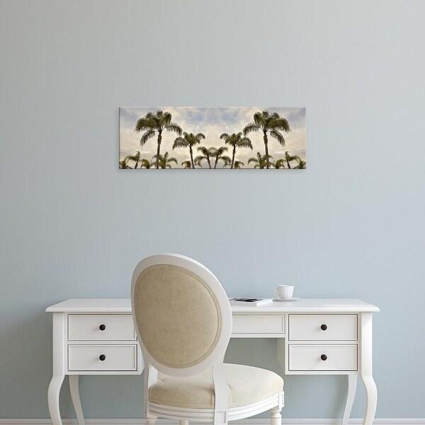 Easy Art Prints Alan BlausteinGold's 'Palm Banner #1