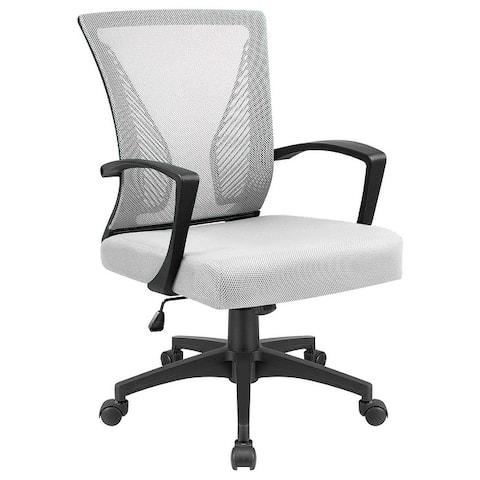 Mid-back Swivel Lumbar Office/Task Armchair