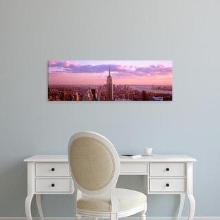 Easy Art Prints Panoramic Image 'Rockefeller Center, Midtown Manhattan, New York City, New York' Canvas Art