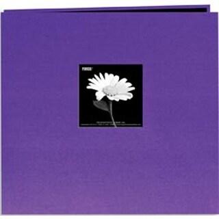 """Grape Purple - Book Cloth Cover Post Bound Album 12""""X12"""""""