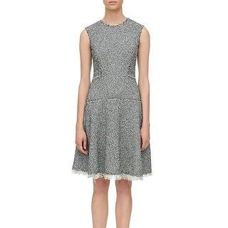 Rebecca Taylor Womens Wear to Work Dress Tweed Sleeveless
