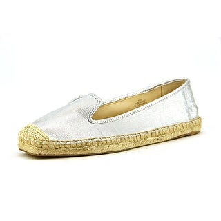 Nine West Beachin It Square Toe Leather Espadrille