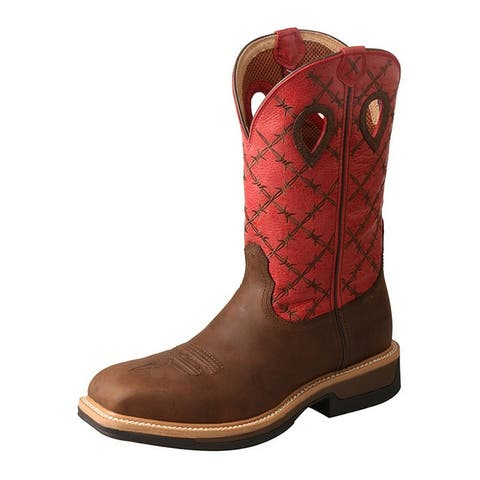 f5a71e07f16 Buy Mid-Calf Boots, Red Men's Boots Online at Overstock | Our Best ...