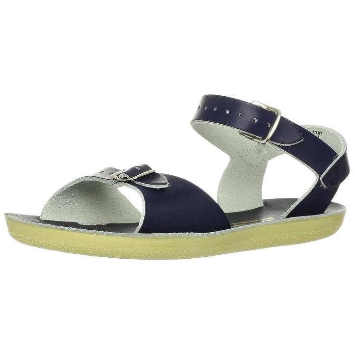 Salt Water Sandals Kids Girls Surfer Buckle Ankle Strap Slide Sandals