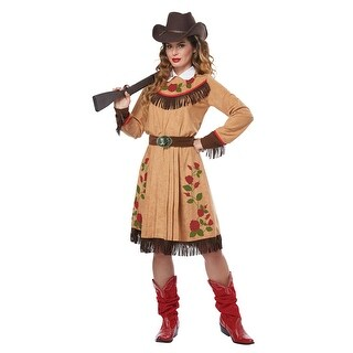 Womens Annie Oakley Cowgirl Halloween Costume