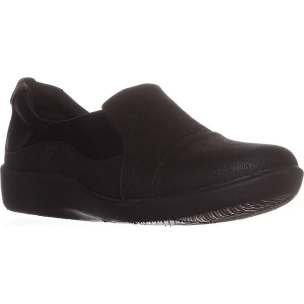 Clarks Sillian Paz Slip-On Comfort Loafers, Black