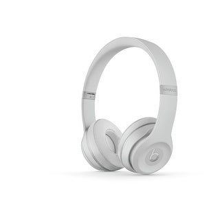 Beats by Dr. Dre - Solo3 Wireless On-Ear Headphones - Matte Silver