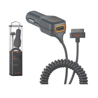 Ventev Dashport 2100c Car charger for Apple iPhone 4, iPod Touch 4 (Gray) - Appl