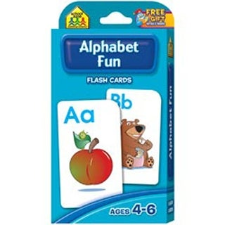 Alphabet Fun 52/Pkg - Flash Cards