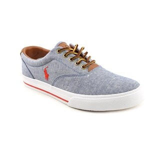 Polo Ralph Lauren Vaughn Men Canvas Blue Fashion Sneakers